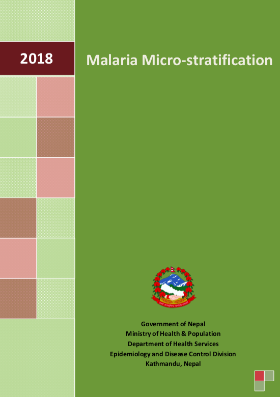 MALARIA MICROSTRATIFICATION REPORT 2018 | NID - Resources